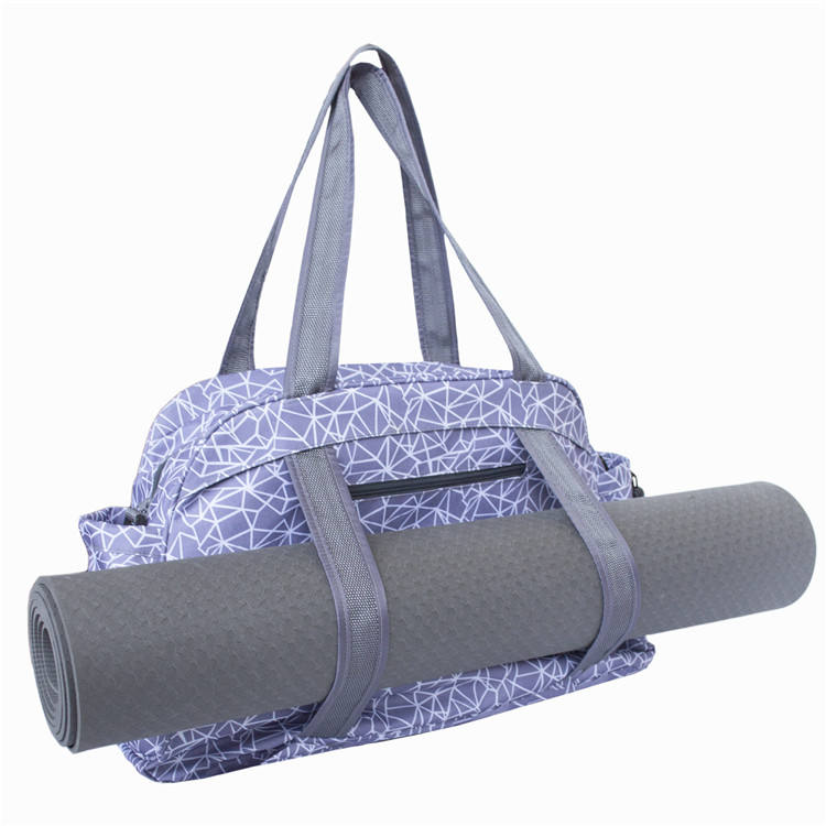 Mydays Large Capacity and Multi Purpose Yoga Mat Carry Tote Bag with Adjustable Shoulder Strap