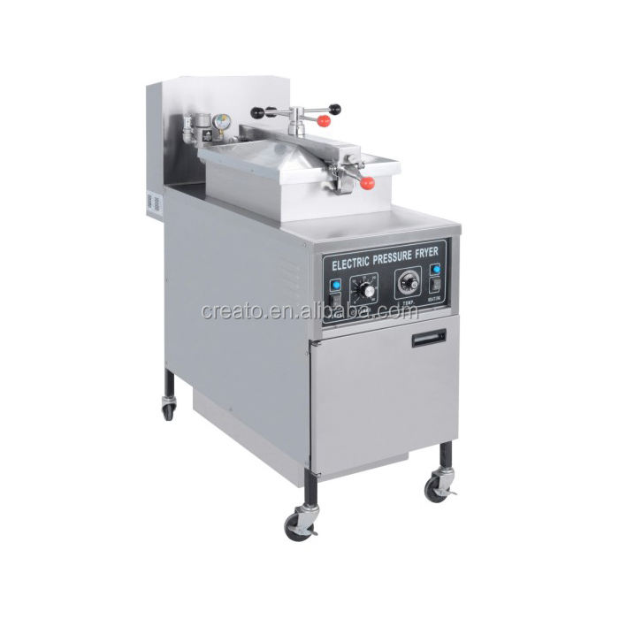 Stainless steel Commercial chicken chips electric pressure fryer