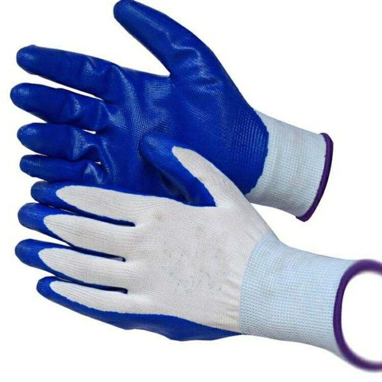 Cheap Price 13 Gauge Disposable Nitrile Gloves Working Gloves 10 inch