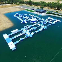 Australia New Inflatable Floating Water Sports Park For Lake