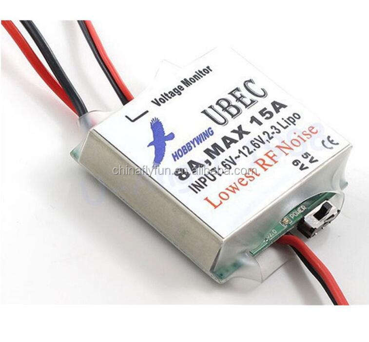 Hobbywing Switchable RC 8A UBEC Max 15A Lowest RF Noise BEC Voltage Regulator Module