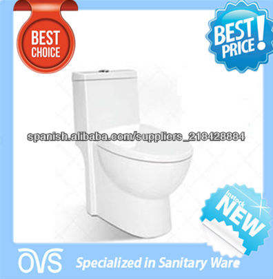 cerámica blanco de una sola pieza inodoro <span class=keywords><strong>nuevo</strong></span> diseño del artículo: A2116