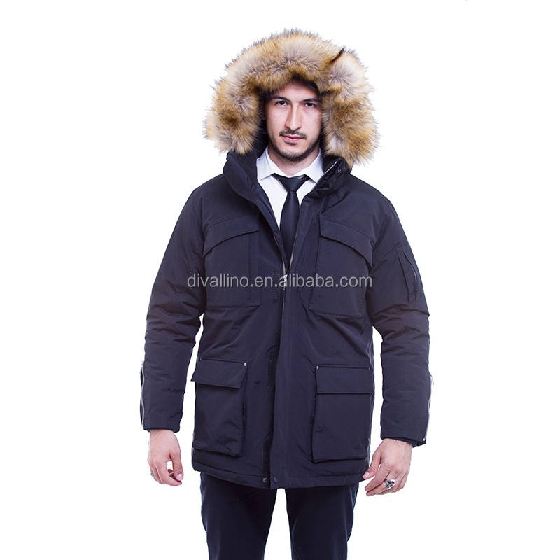 2020 Direct Factory of Fur Trim Down-Filled Parka and Winter Coat For Men