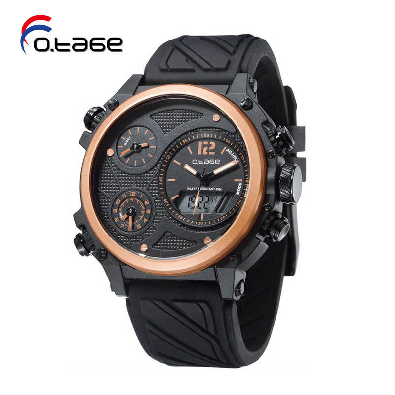 Commercio all'ingrosso Nero Digital Orologio Da Polso Figure Relojes
