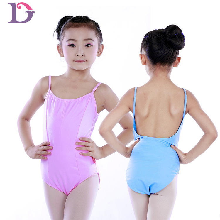 C2031 Hot selling girl dance wear custom made leotards for kids gymnastic leotard wear