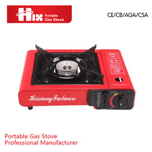 novo design portátil único queimador de fogão a gás portátil