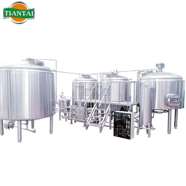 Microbrewery system from 500L to 2000L brewhouse beer fermenting plant for fruit beer ginger beer