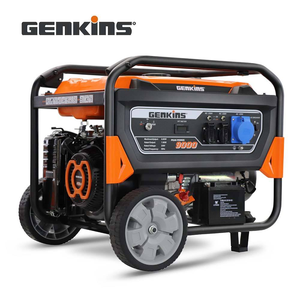 China Cheap 7.5KW Generator Gasoline GK9000E Powerful Backup Power Portable Electric Start Gasoline Generator