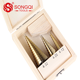 3Pcs Metric Spiral Flute Step HSS Steel 4241 Cone Titanium Coated Hole Cutter 4-12/ 20/ 32mm Step Drill Bit Sets
