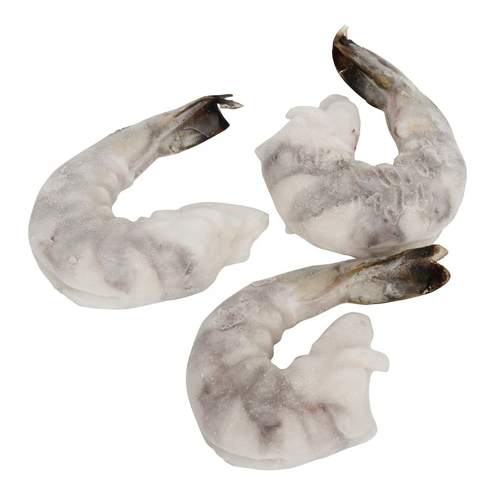 Grade A Frozen glazed red PUD shrimp for sale (Solenocera melantho) 20/40 40/60 60/80 pieces/LB