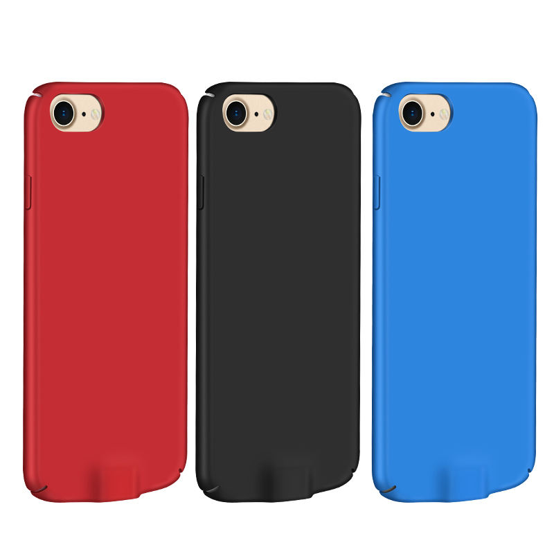 For Iphone 6 7 Battery Charging Case 5000 Mah Power Bank Case Charger Cover Pack PowerBank Fits For Iphone Battery Case