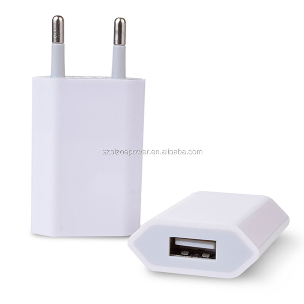 5V 1A EU/US Plug USB Wall AC Power Adapter Travel Charger For Iphone Samsung Charger Phone