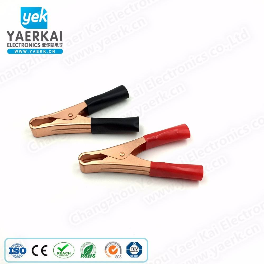 YAERK 50A 100mm battery alligator clip with best quality