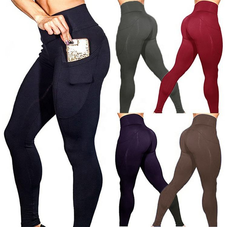 Wholesale sports tight women high waisted workout Yoga leggings