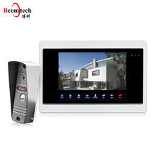 High Quality Doorbell 10 inch Villa Kit Video Door Phone 4 Wire Door Intercom Home Security System