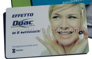 Credit Card Type Dental Floss Kaart