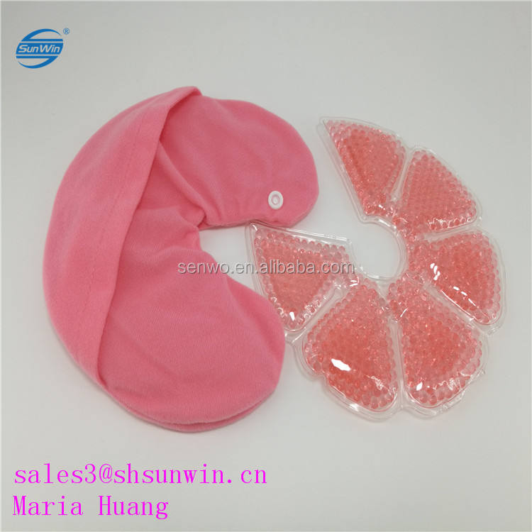 Gel bra breast soothing hot cold compress breast ice packs