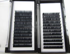 Good quality faux mink eyelash extensions eyelash factory bulk eyelash extension