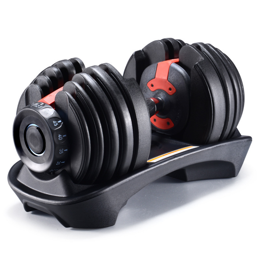 Hot Sale Adjustable Dumbbell Fitness Equipment Lose Weight
