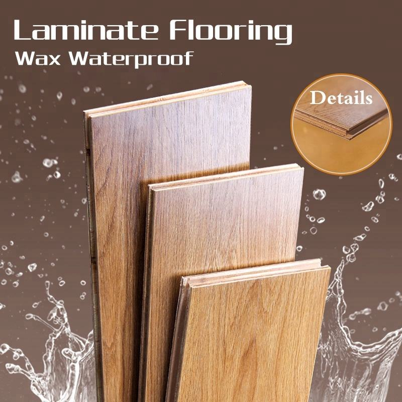 Cheaper price than changzhou city with 8mm 12mm laminate flooring wood flooring