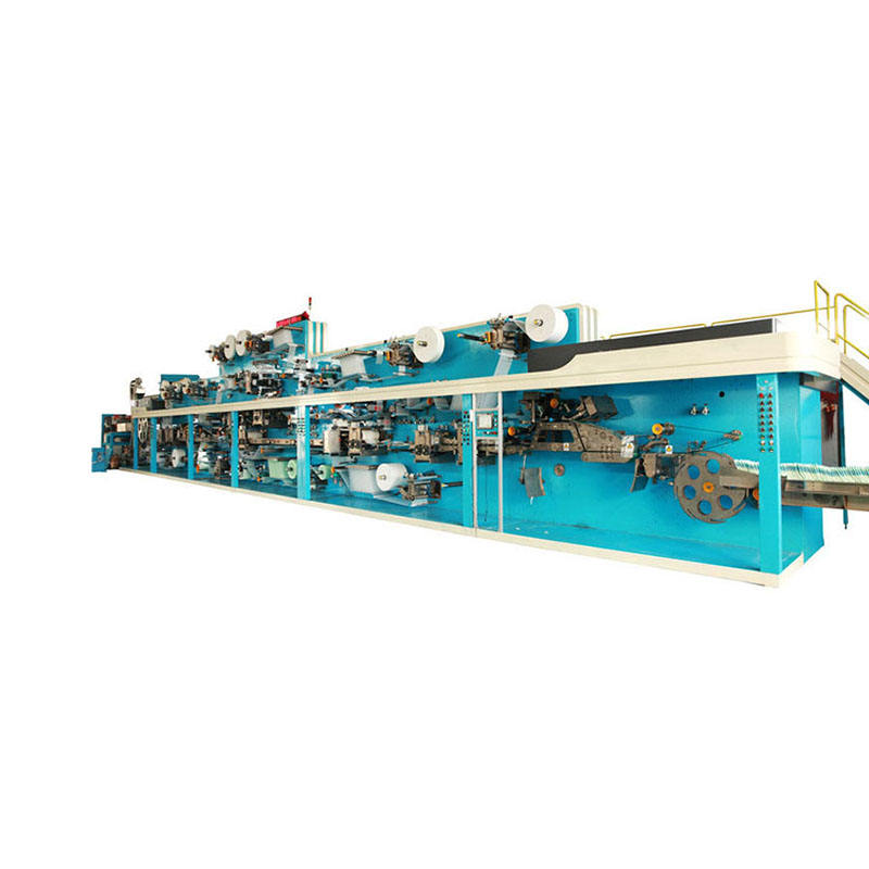 China diapers industry machine for making disposable bebe diaper