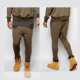 wholesale custom men 100% cotton slim sweater jogger pants for men