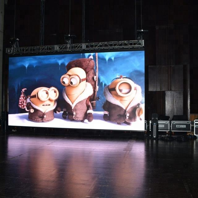 Indoor P5 led advertising board for stage