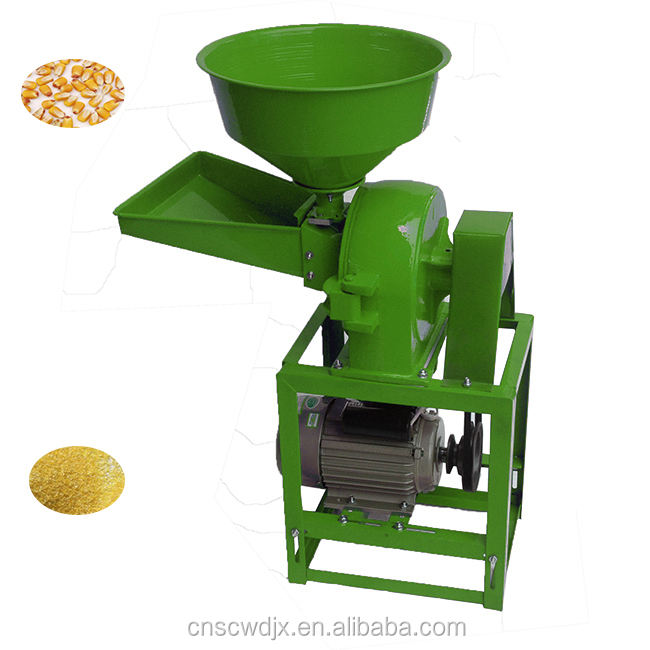 DONGYA 9FC-21 0110 High quality commercial soybean /corn /paddy / wheat flour mill