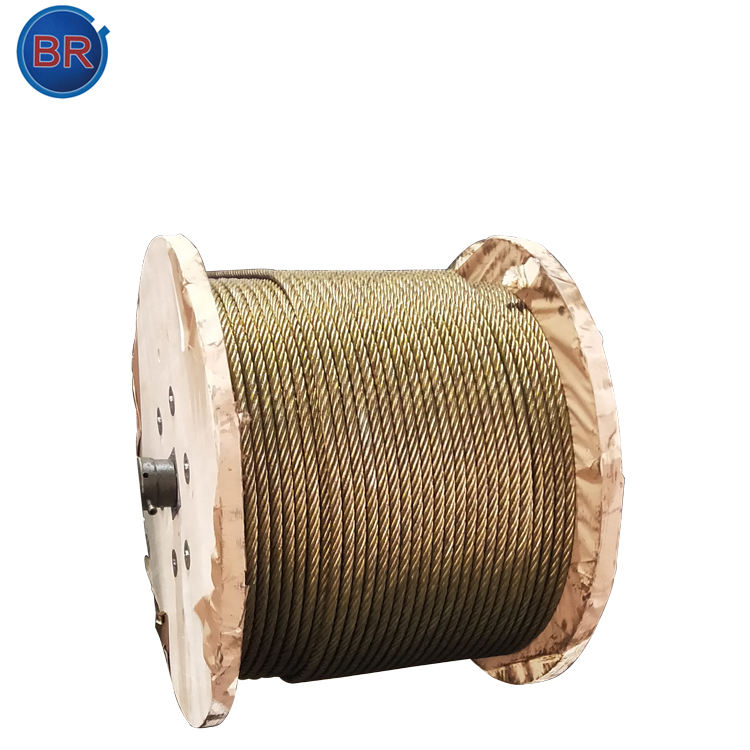 DIN Standard Bright Steel Wire Rope For General Purpose