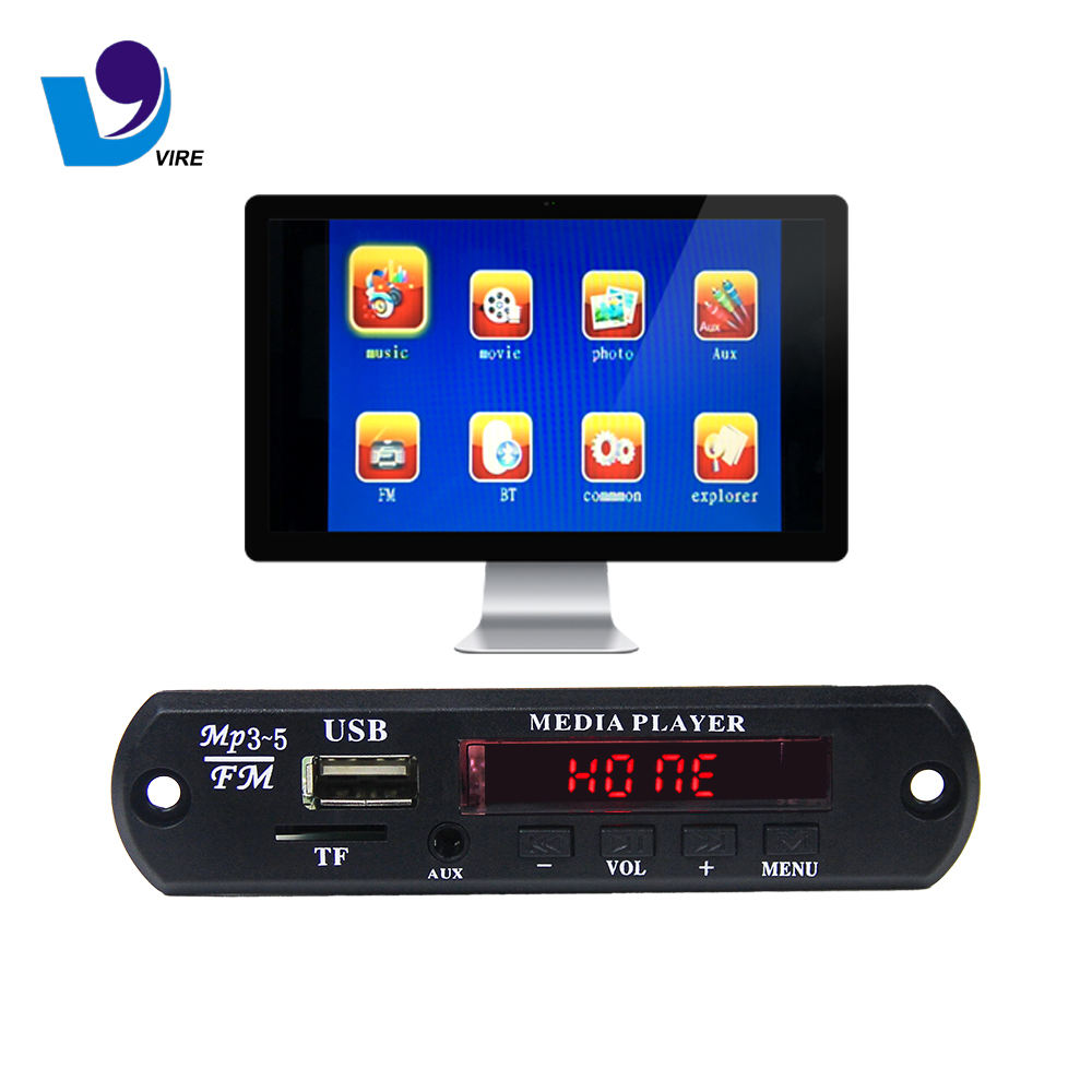 VTF-108 Bluetooth Video USB MP4 Decoder Papan