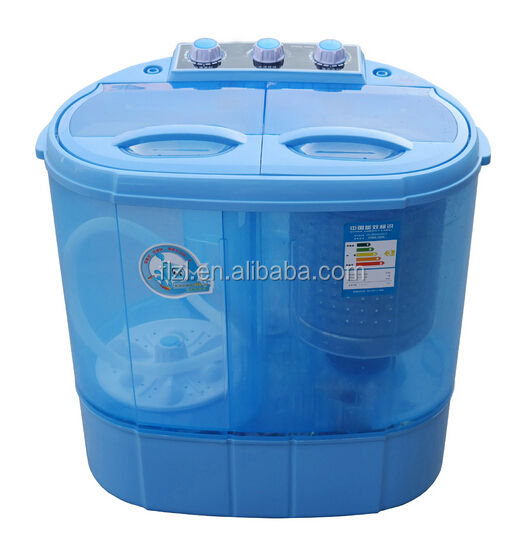 Twin tub washing and drying machine
