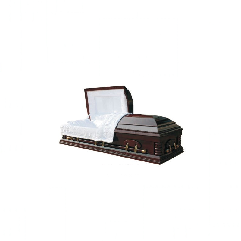 Modern Use Funeral Use Solid Wood Coffins Adult Coffin TD-AC04