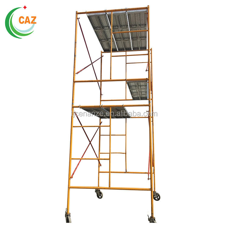 Construction Mobile Telescopic Scaffolding Tower Used for High-rise Buildings