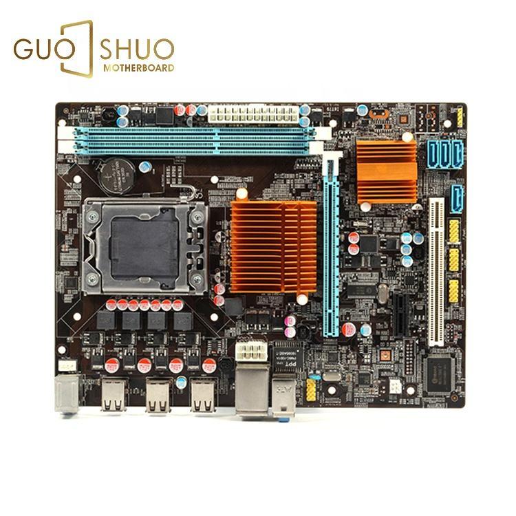 新しいデスクトップマザー X58 Lga 1366 Ddr3 16 ギガバイトサポート 1600 Ram インテル Xeon クアッドコア 1366 cpu