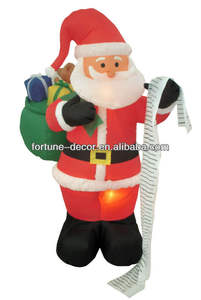 180cmH/6ft Christmas decoration Inflatable Santa inflatable toy