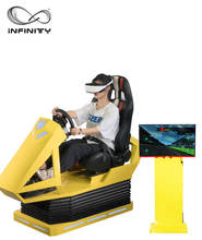 Infinity Hot Sale New Design 9D Virtual Reality Game Earn Money Race Car  VR  Racing Game Simulator Race Motion