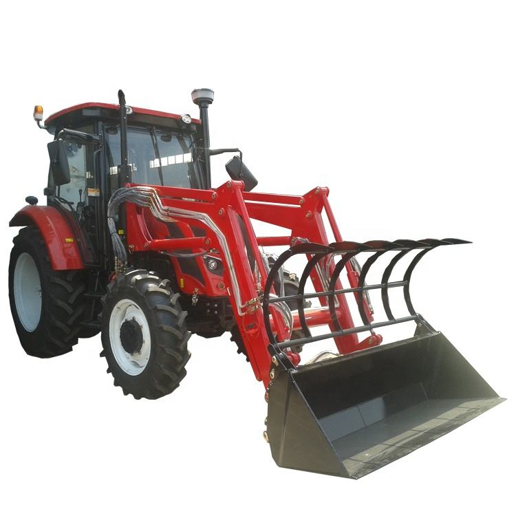 QLN 4WD 85HP Roof Tractor,AC Cheap Price Tractor Farm Front End Loader