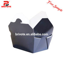 kraft food box/disposable japanese food box containers/paper box for food