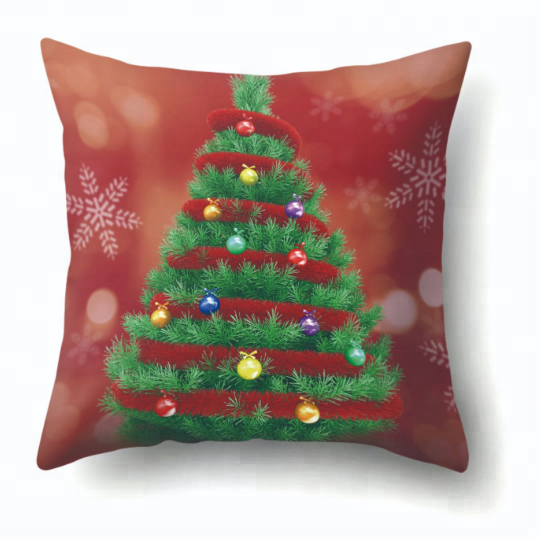 Home made designer handmade custom printing sofa decorative christmas cushion