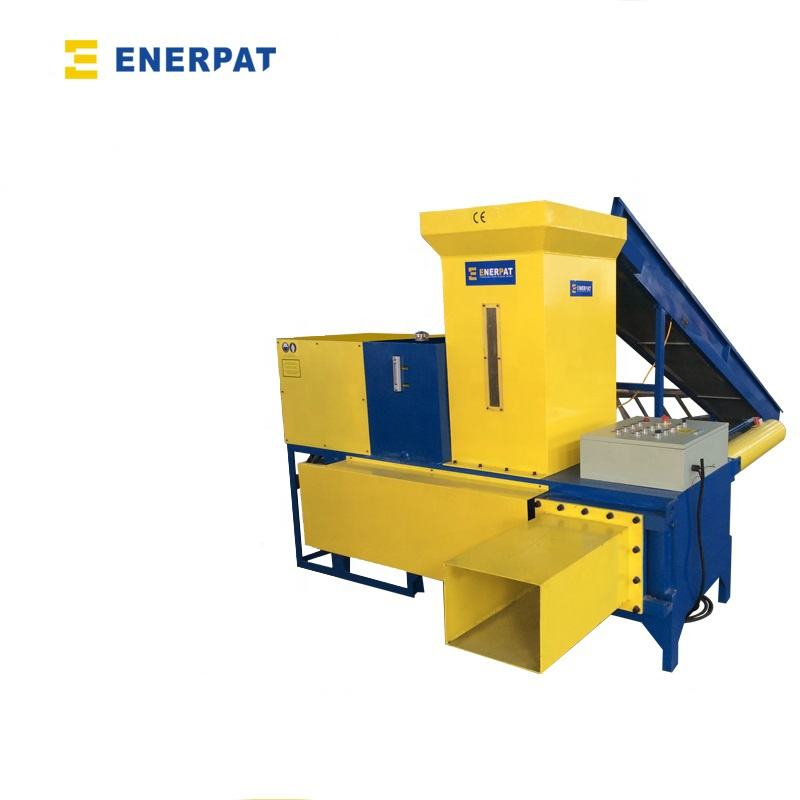 Automatic Enerpat Sawdust Wood Shavings Bagging Press Baler Machine for Sale