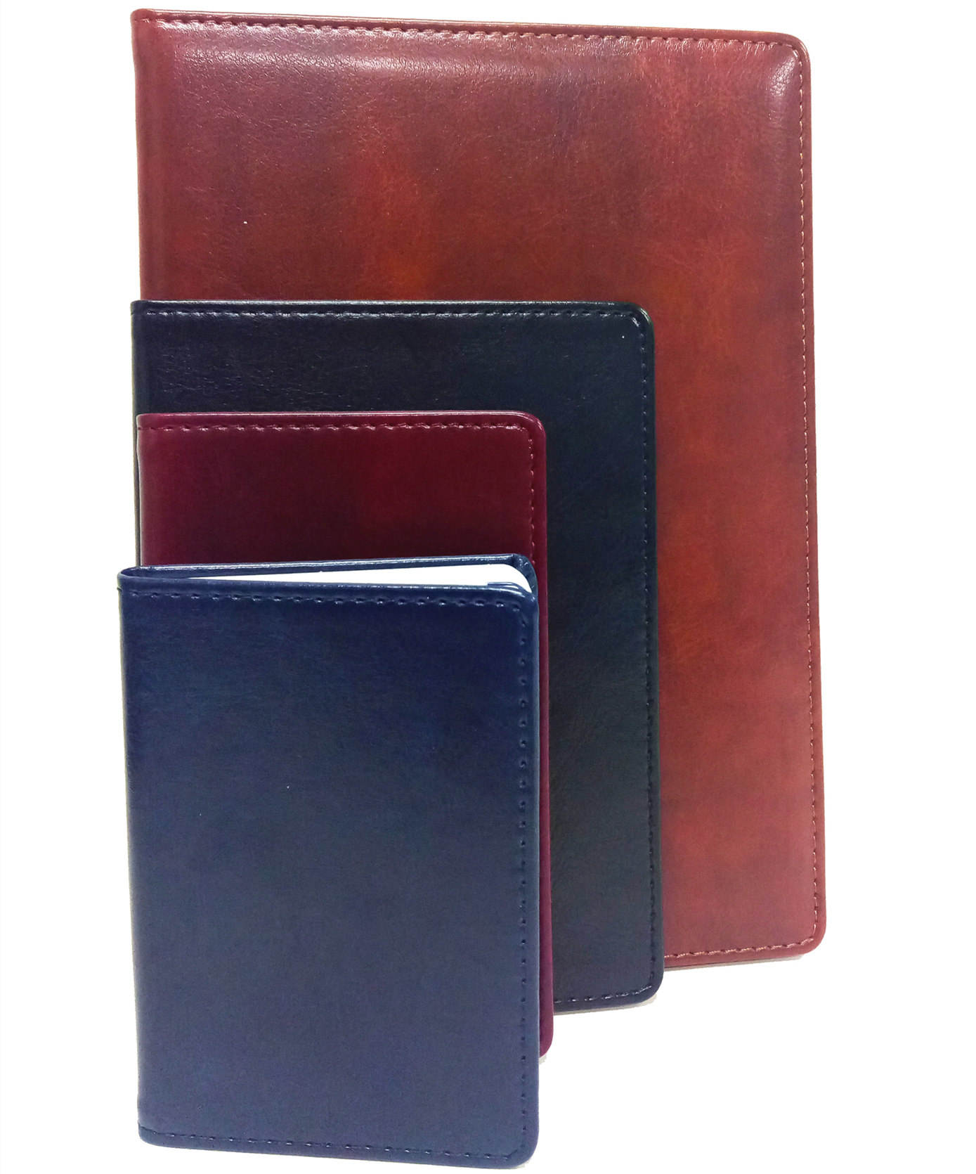 2020 PU Leather Notebook Customized Size Address Book With Blind Logo