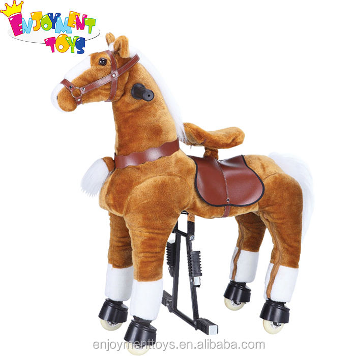 Enjoyment outdoor spring rocking horse for adult,wooden rocking horse indonesia