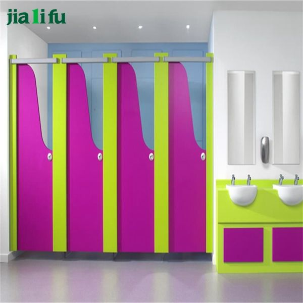 cheap safe children used toilet cubicle partition