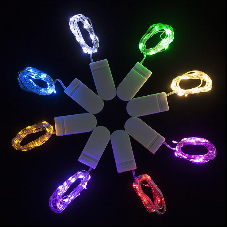 En İyi Kalite Promosyon Düğme Piller Kumandalı Led <span class=keywords><strong>Bisiklet</strong></span> Tekerleği Işık Düğme Pil Led Dize Işık Tatil Dekor