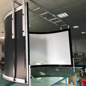180 / 270 / 360 Degree Flight Simulator Large Curved Projector Screen