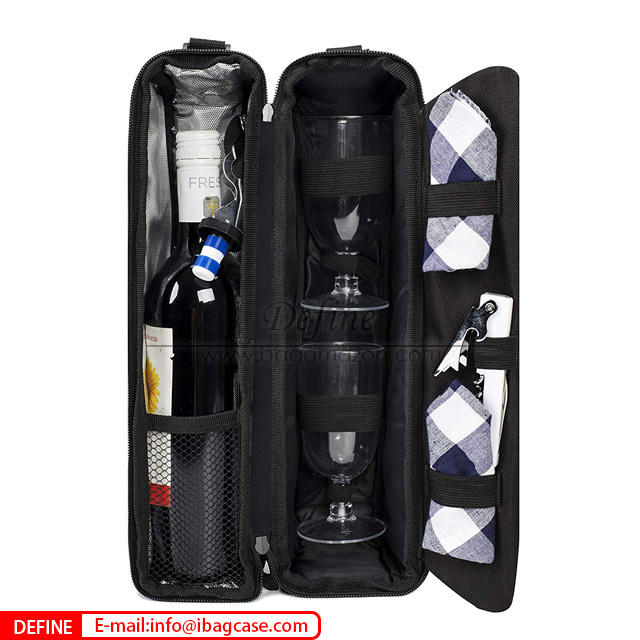 High Quality Wholesale Wine Bottle Bag
