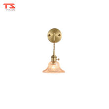 Modern Art Decor Gold Metal Indoor Led Wall Mount Lights For Hotel