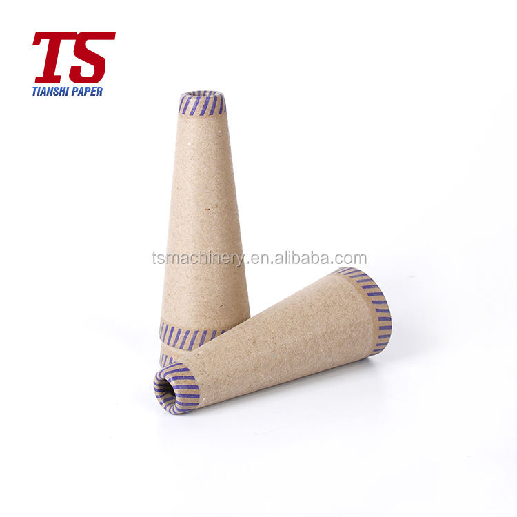 paper cone for yarn in packaging tubes