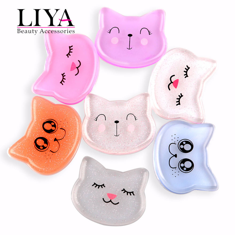 2017 cat shaped silicone beauty makeup sponge cosmetic brands