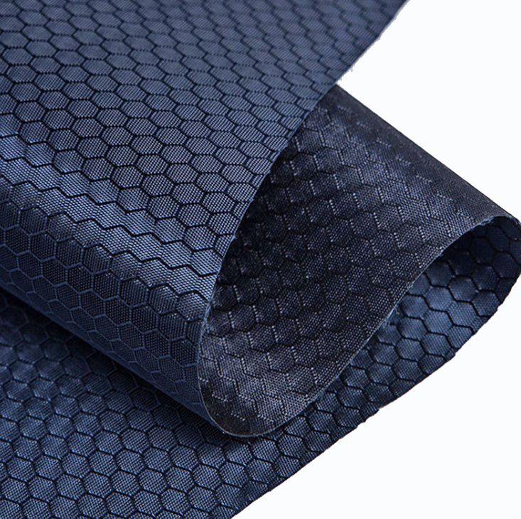 420D Ripstop Oxford Fabric with PU Coating